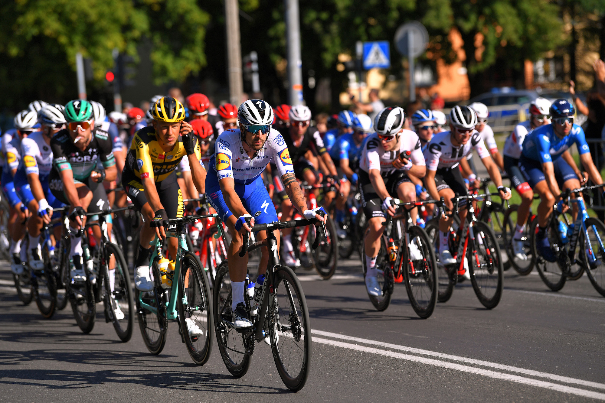 Crash-marred finale overshadows stage one of the Tour of Poland 2020 - Cycling Weekly