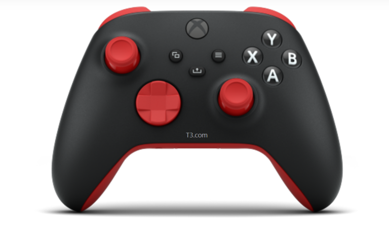 Customised T3 Xbox Series X controller