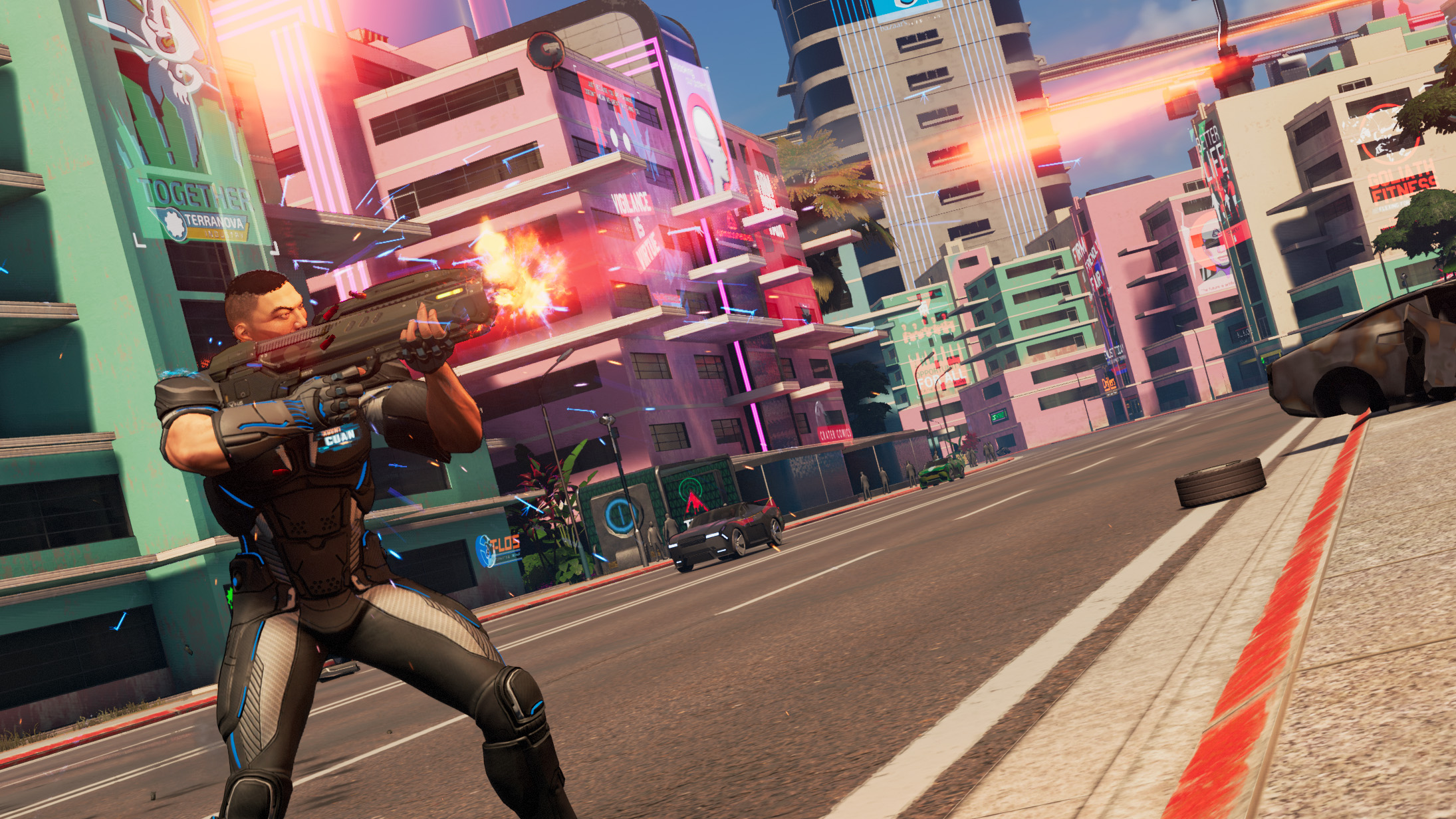 Crackdown 3 co-op reportedly locked at 30fps