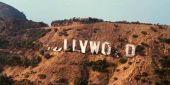What Some Jokester Changed The Hollywood Sign To