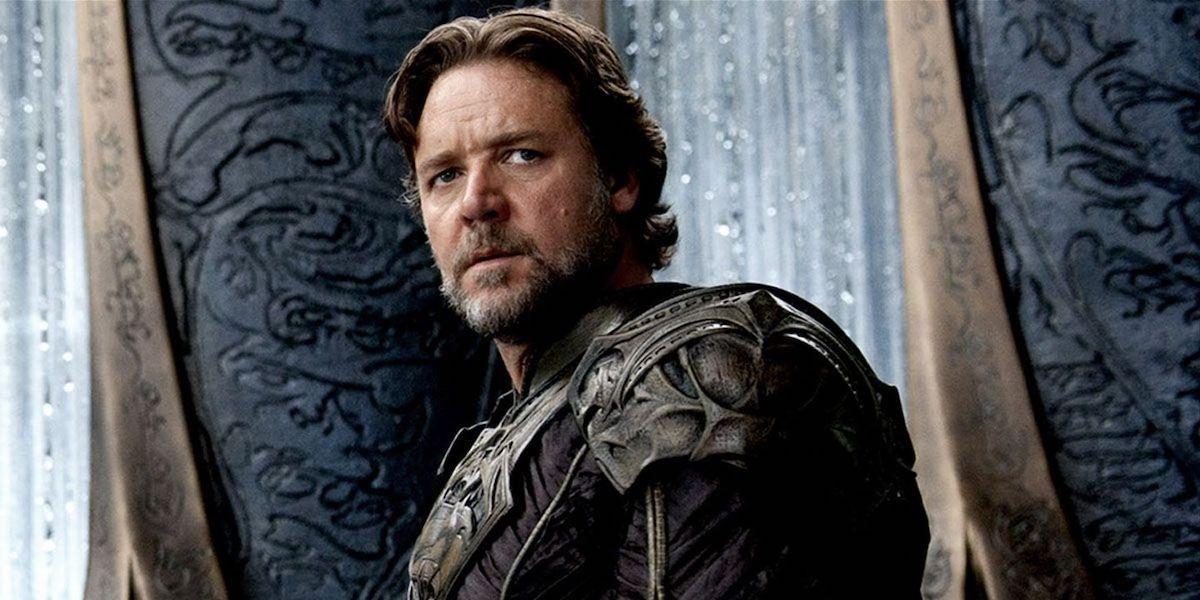Russell Crowe as Jor-El in Man of Steel
