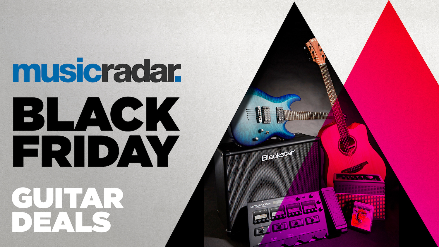 Black Friday Guitar Deals 2020 These Guitar Pedal Amp And Accessory Deals Are Still Live Musicradar