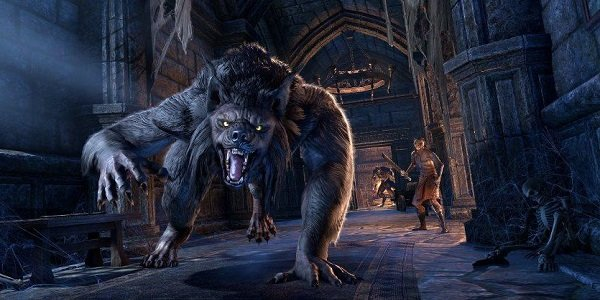 A werewolf invades The Elder Scrolls Online.