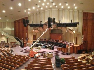 d&b Silences Sound Issues at Whitesburg Baptist Church