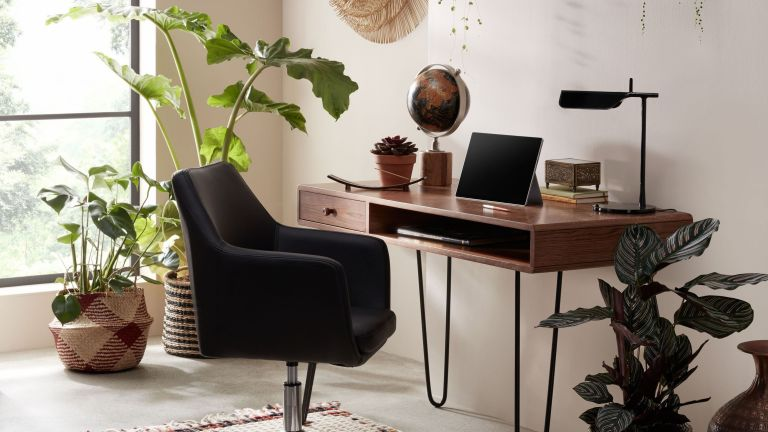 John Lewis desk in a modern home office