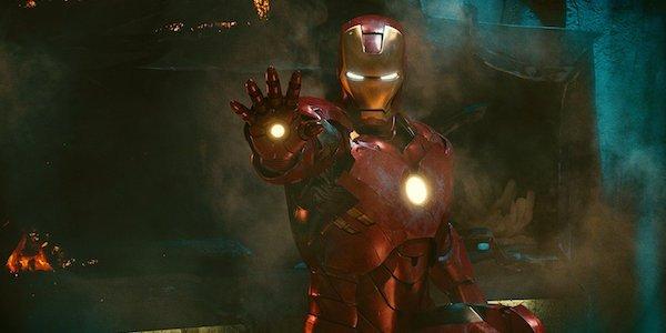 Armored Tony Stark in Iron Man 2