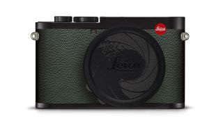This is the James Bond-themed Leica Q2 007 Limited Edition
