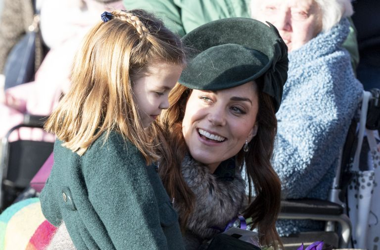 princess Charlotte and duchess of Cambridge
