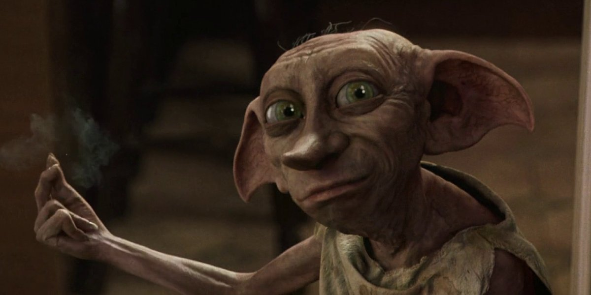 Fellow house elf Dobby from Harry Potter and the Chamber of Secrets