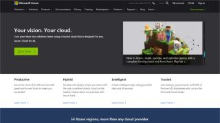 Microsoft Azure - A stunning range of services, with some free features