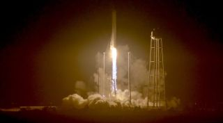 Antares Cygnus cargo launch