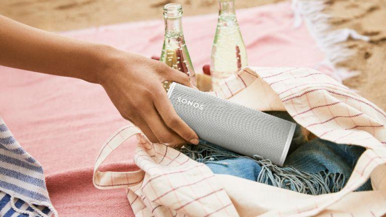 best outdoor speaker: Sonos Roam Smart Speaker