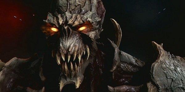 mean looking Doom demon