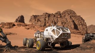 Red Planet Vehicle in 'The Martian'