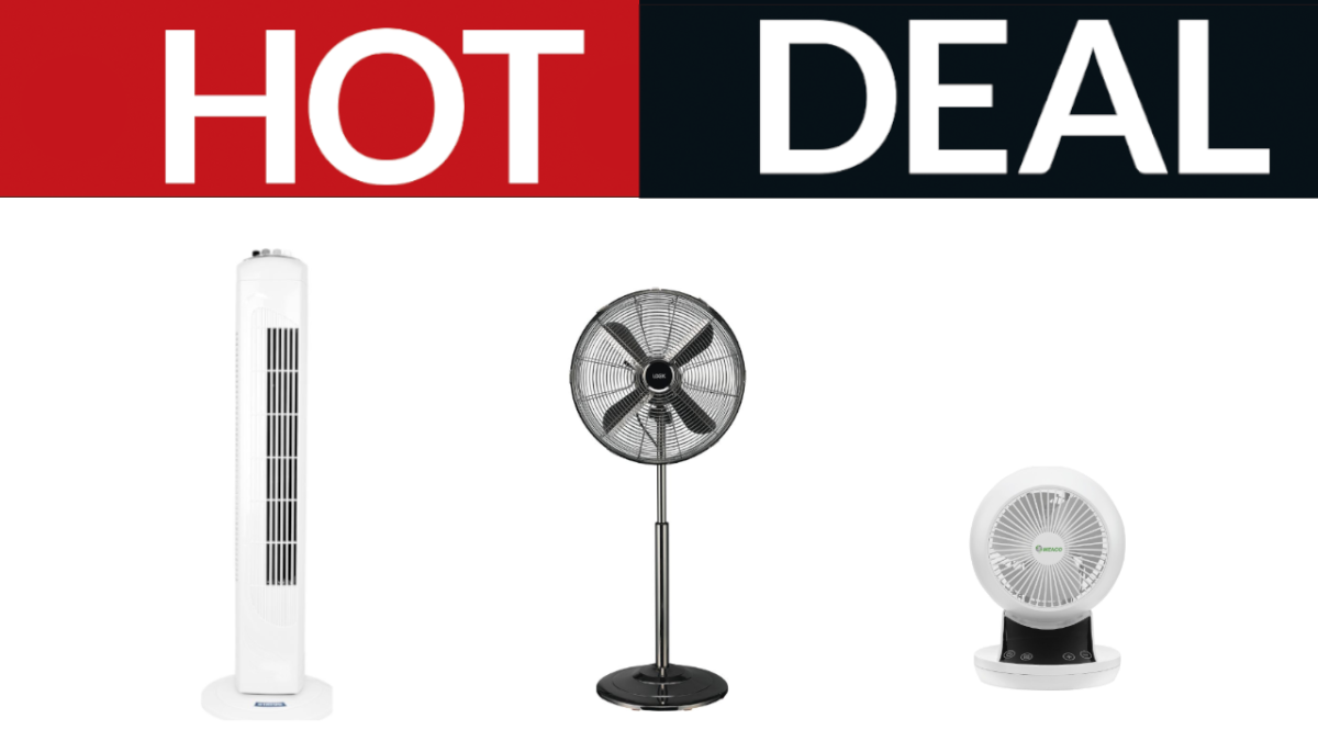Image of article 'Cheap fan deals: Currys slashes prices in the summer heat'