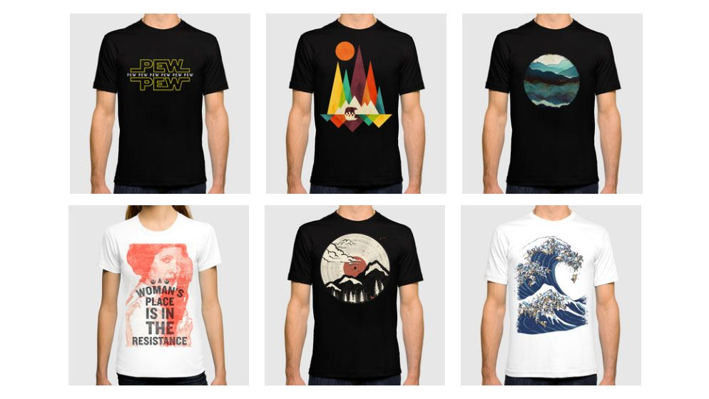 10 pro tips for creating better t shirt designs creative for How to copyright at shirt design