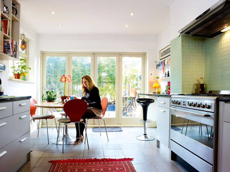 A Renovated Victorian Terraced Home Real Homes Custom Modern Victorian Kitchen Design Property