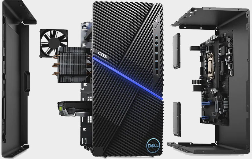 Get a Dell gaming desktop with a Comet Lake CPU and GTX 1650 Super for $600