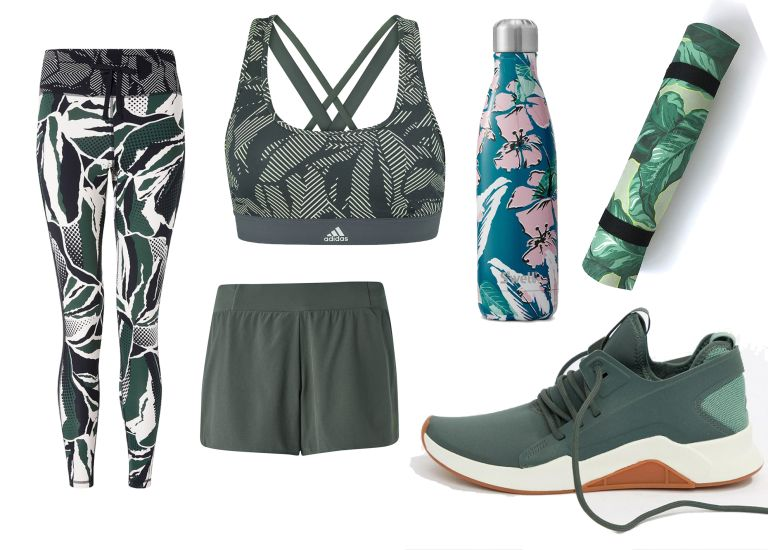 The best tropical print gym wear