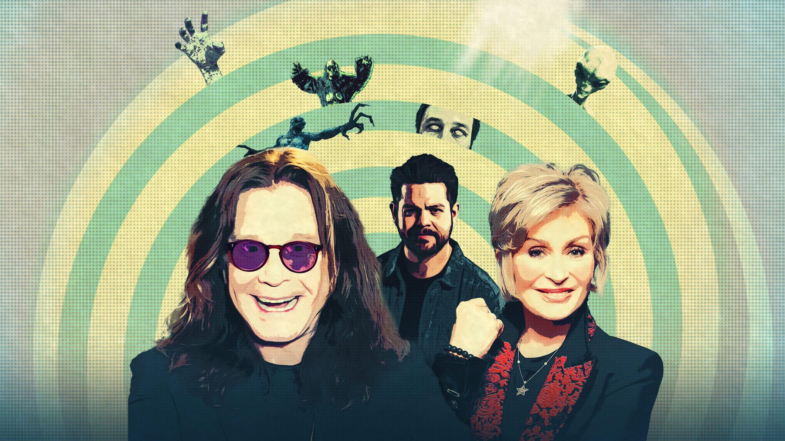 Sharon, Jack y Ozzy Osbourne