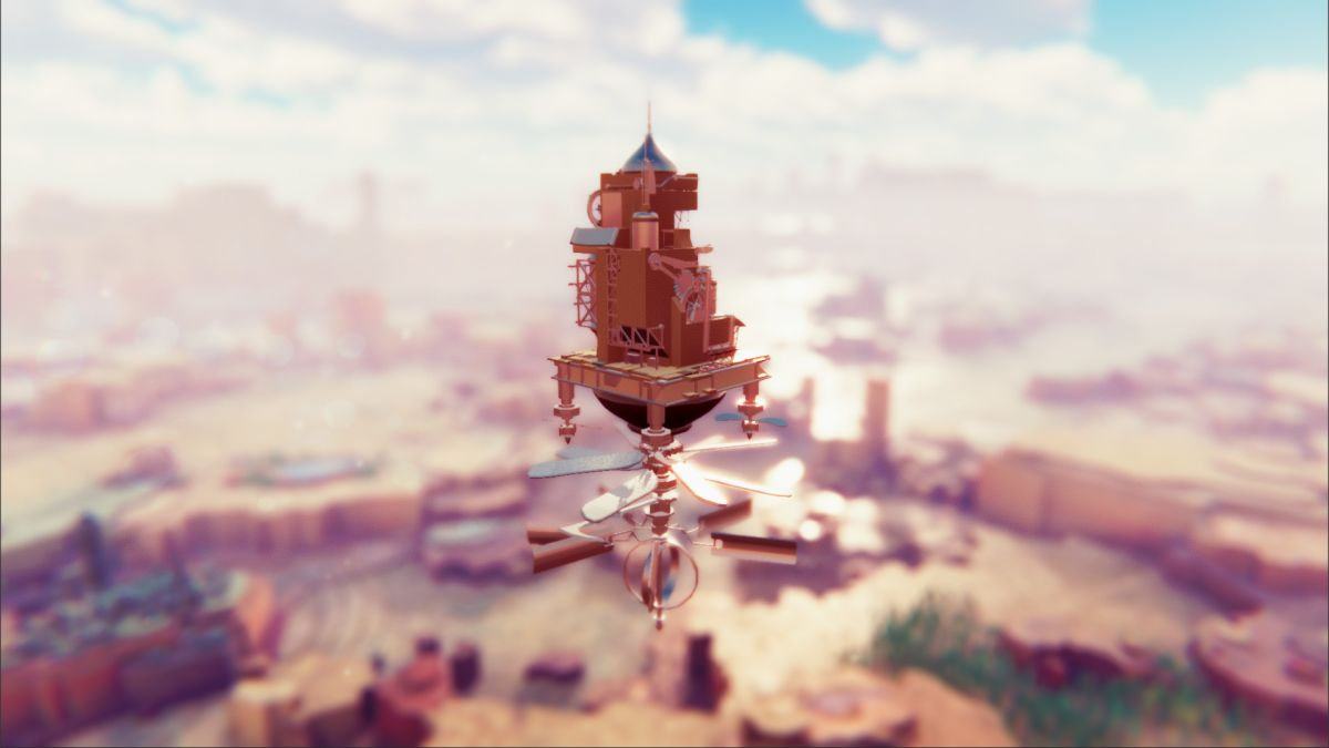 Airborne Kingdom lets you build and run your very own flying city