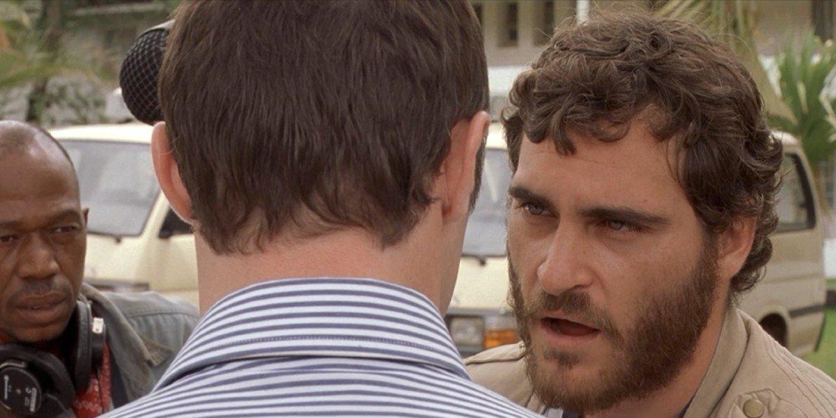 Joaquin Phoenix in Hotel Rwanda