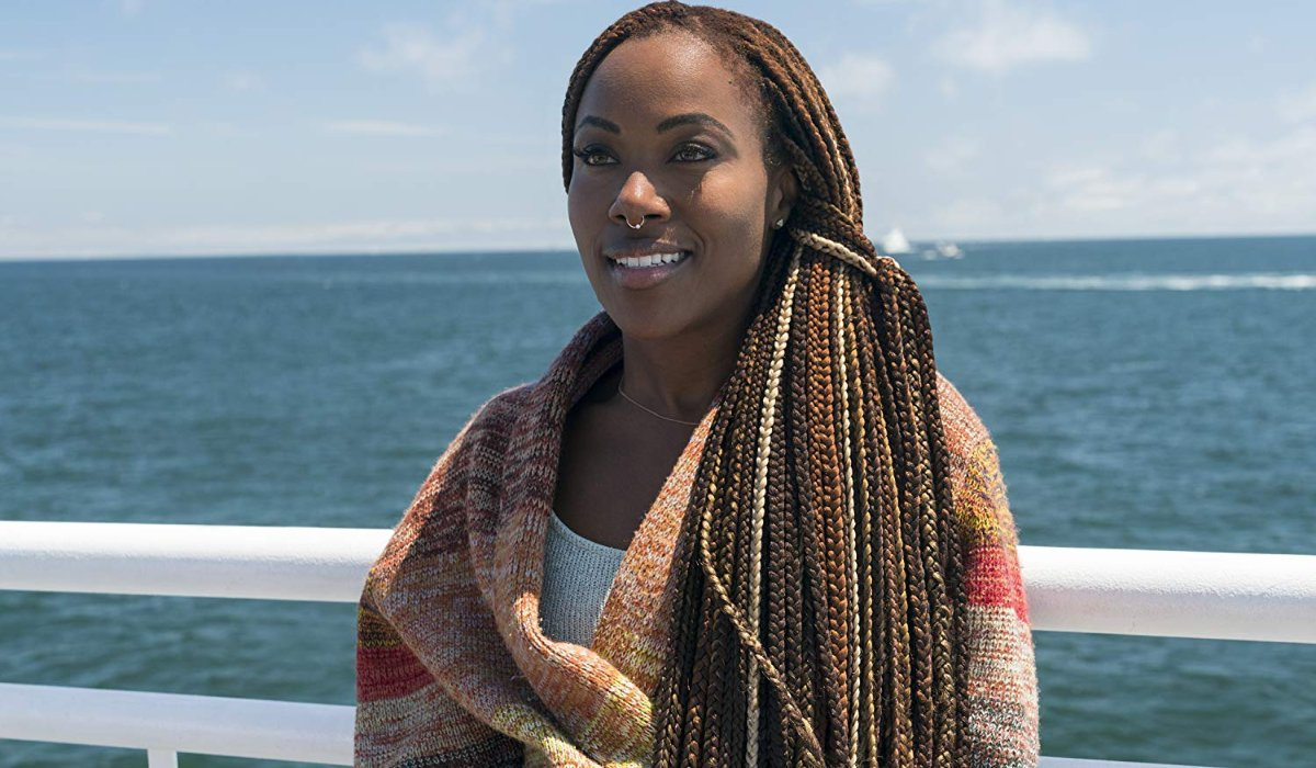 She's Gotta Have It Dewanda Wise standing in front of the ocean