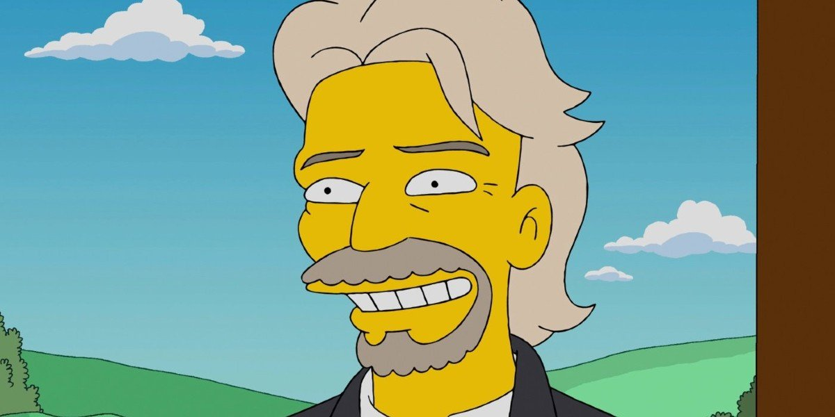 That Time The Simpsons Predicted Richard Branson's Voyage Into Space