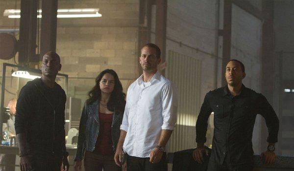 Furious 7 Tyrese Michelle Rodriguez Paul Walker Ludacris