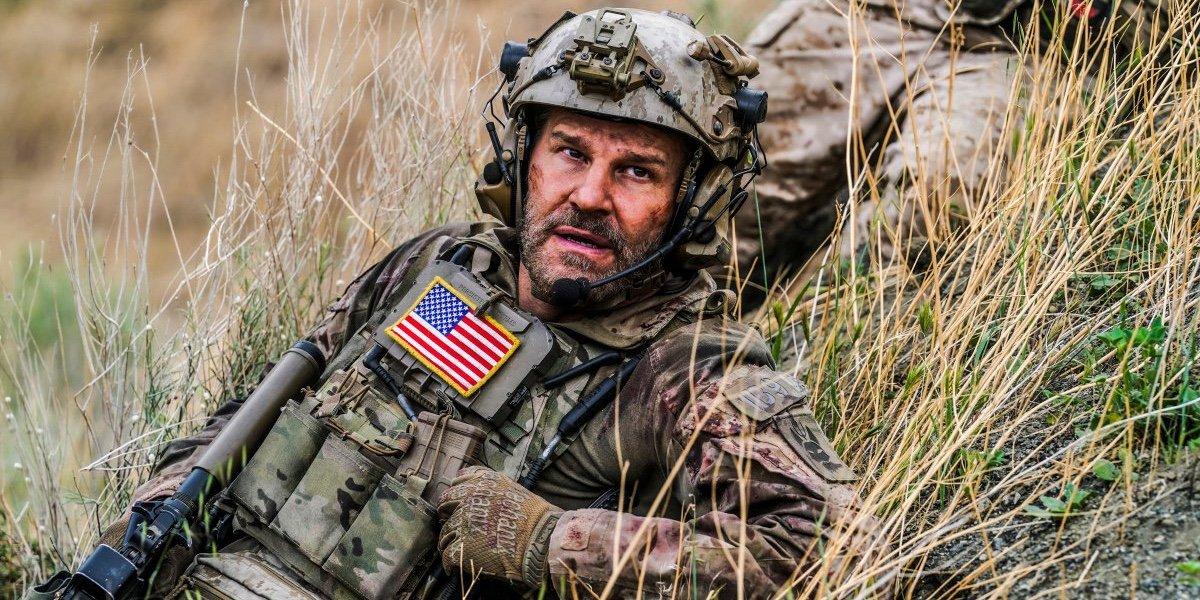 David Boreanaz as Jason Hayes in SEAL Team.