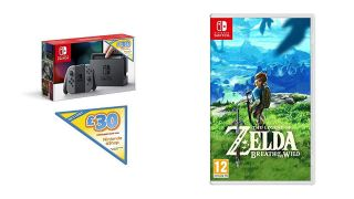 Nintendo Switch and Breath of the Wild bundle only £299.99 for Prime Day