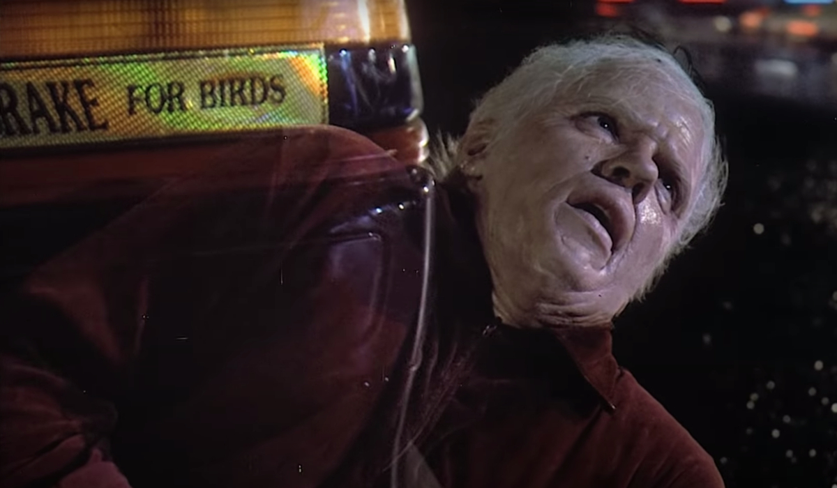 Back To The Future Part II Old Biff fading out