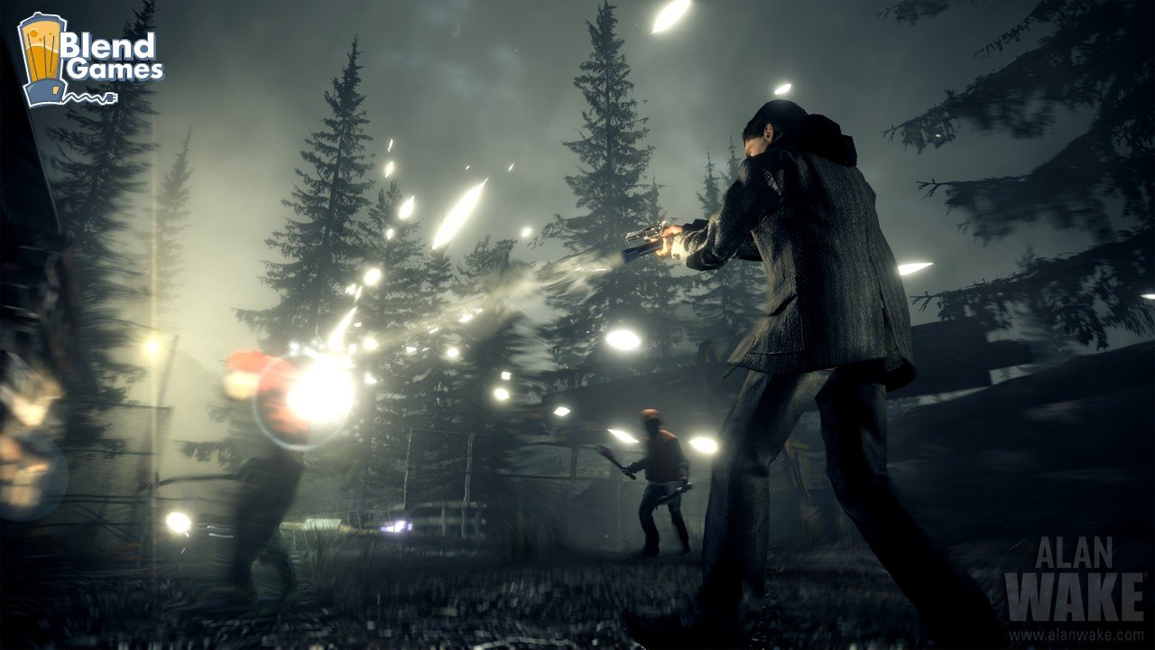 Alan Wake Screenshots Are All About The Flashlight #11189