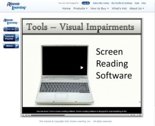 Video Tutorial: Understanding tools learners with blind or low vision use