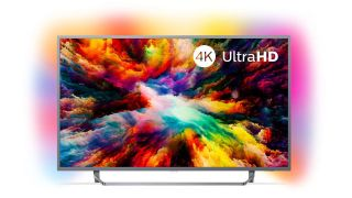Save £190 on an impressive Philips 4K Ambilight TV
