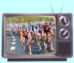 Cycling on TV logo