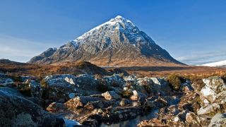 Buchaille Etive Mor in Scotland