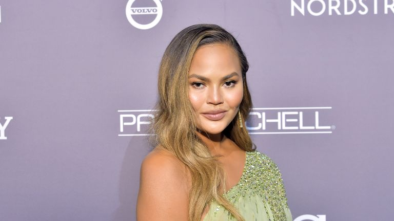 LOS ANGELES, CALIFORNIA - NOVEMBER 09: Chrissy Teigen attends the 2019 Baby2Baby Gala presented by Paul Mitchell on November 09, 2019 in Los Angeles, California. (Photo by Stefanie Keenan/Getty Images for Baby2Baby)