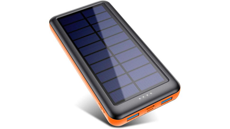 Pxwaxpy Solar Power Bank 26800mAh