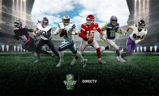 Promo for 2021 season of NFL Sunday Ticket