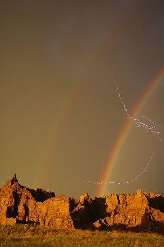 national parks, rainbow
