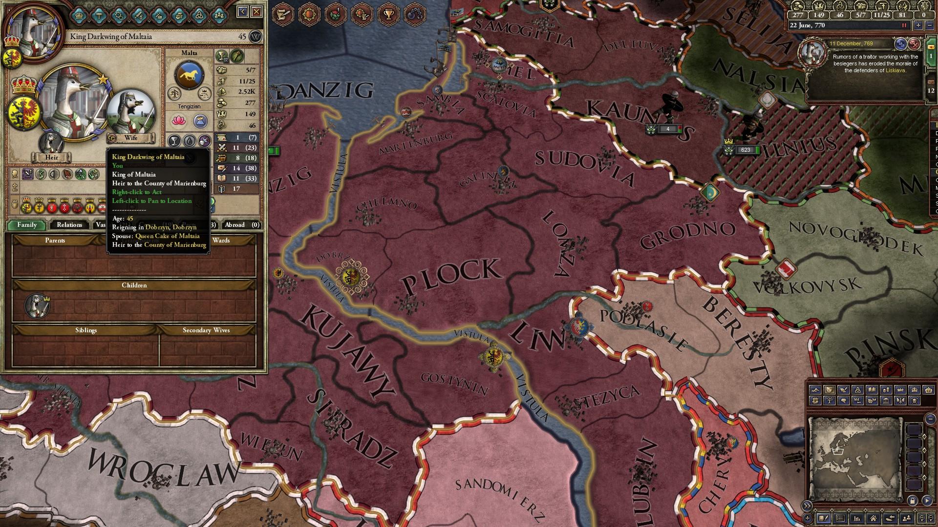 Crusader Kings 2 easter egg lets you rule an animal kingdom