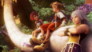kingdom hearts sora, kairi and riku