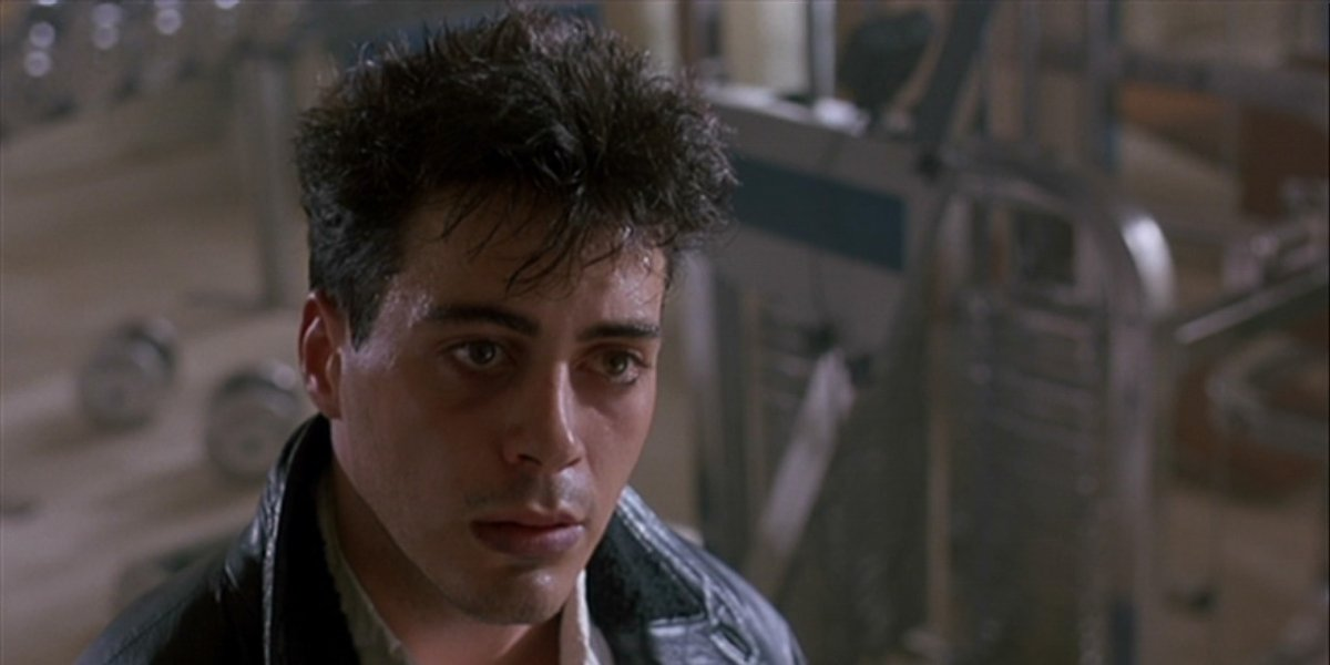 Robert Downey Jr. in Less Than Zero