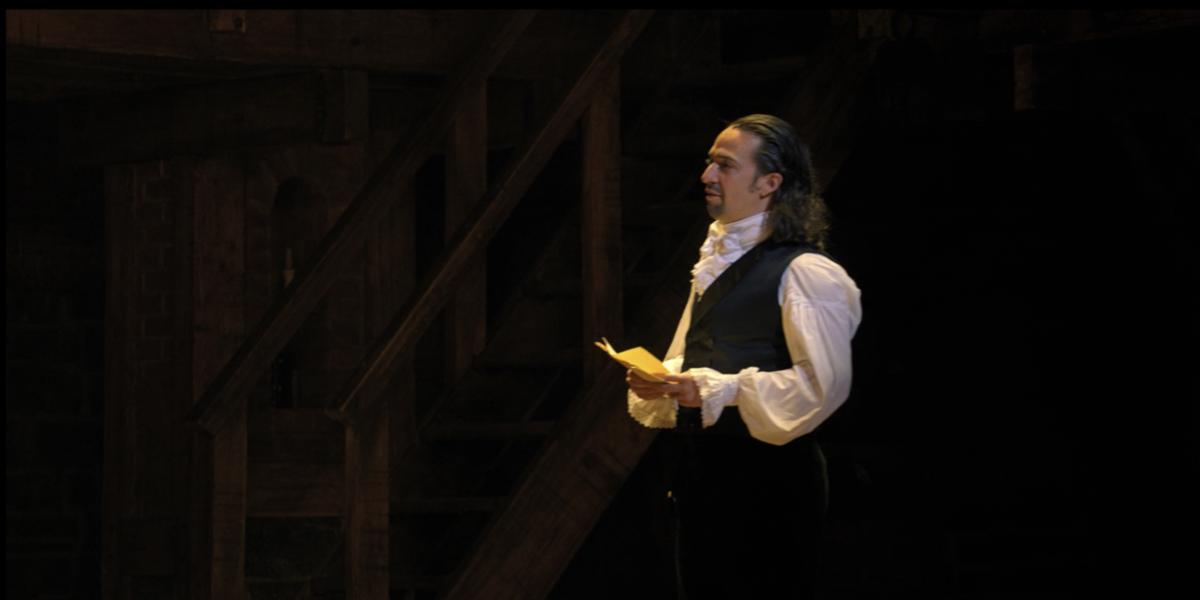 Lin-Manuel Miranda as Hamilton from One Last Time