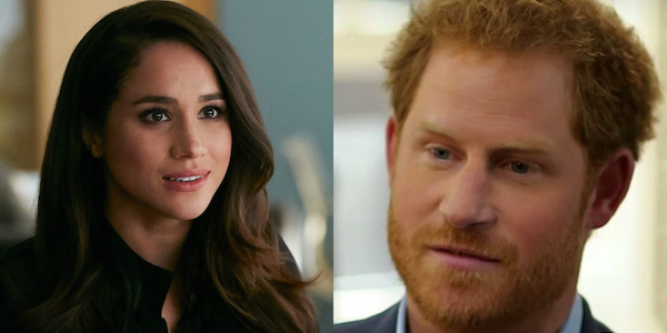 Meghan Markle and Prince Harry side by side