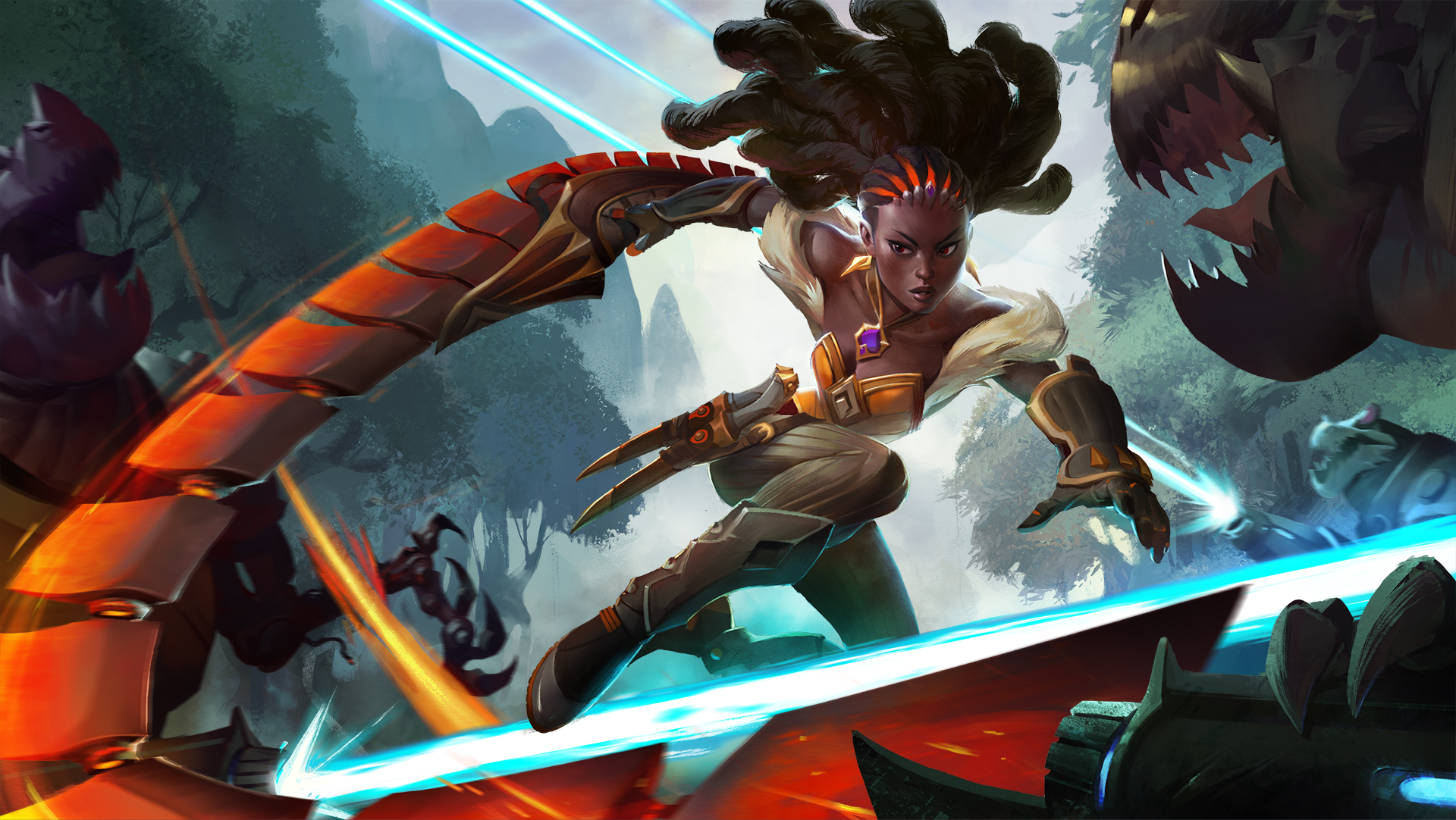 Heroes of the Storm reveals new melee assassin, Qhira | PC Gamer