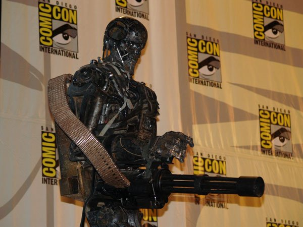 Comic Con In Photos: Terminator Salvation's T-600 #120