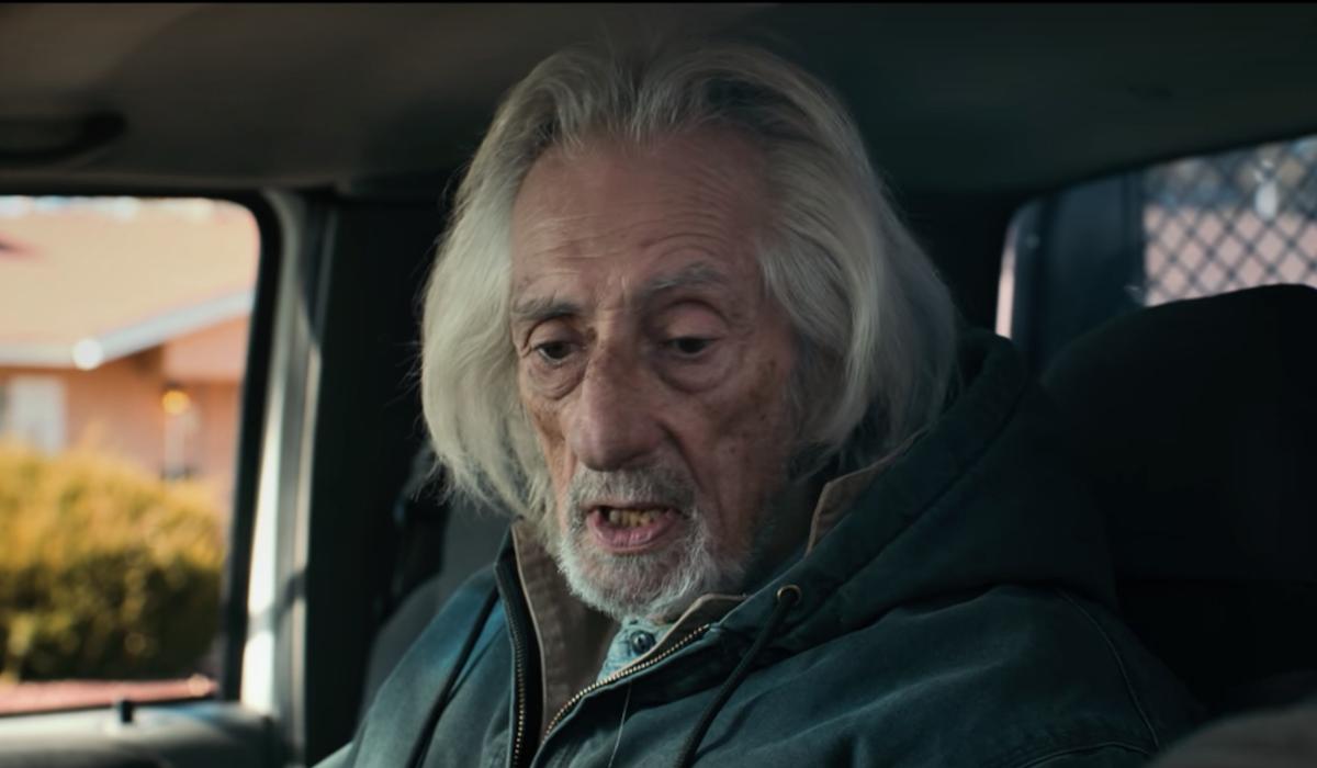 old joe in his truck el camino breaking bad movie