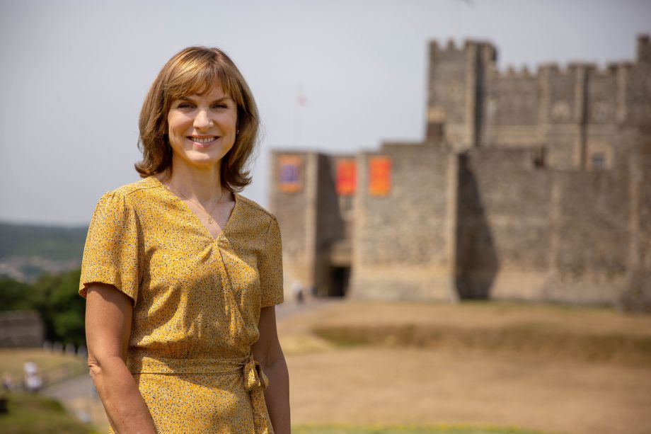 Antiques Roadshow Show at Dover Castle presented by Fiona Bruce